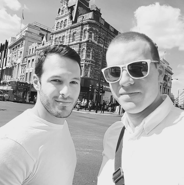 sam fitton and aaron calvert in london doing business with lost luggage productions